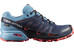 Salomon W's Speedcross Vario GTX Shoes Slateblue/Blue Gum/Coral Punch